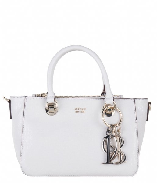Tamra Small Society Satchel stone Guess | The Little Green Bag