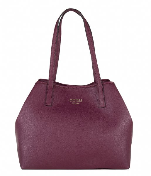 Vikky Tote burgundy Guess | The Little Green Bag