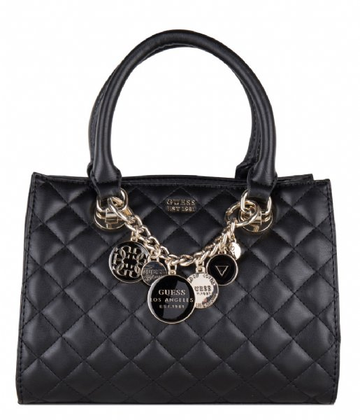 9b9781d1e1 Victoria Small Girlfriend Satchel black Guess