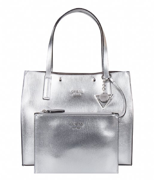 9ddf9ac44dca4 Kinley carryall silver guess the little green bag jpg 515x600 Guess silver  bag
