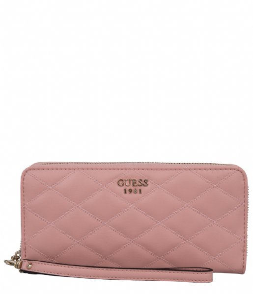 e26d0b2e1 Penelope SLG Large Zip Around Rose Guess | The Little Green Bag