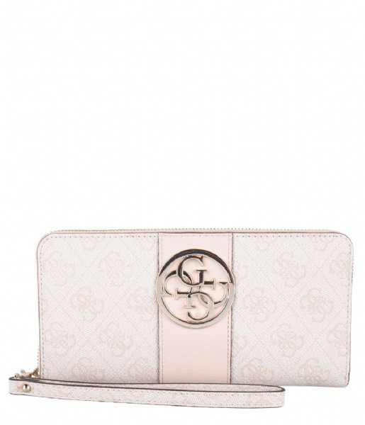 Bluebelle SLG Large Zip Around blush Guess | The Little