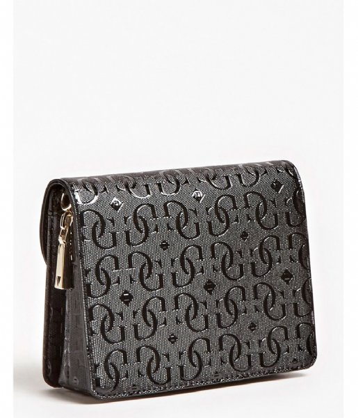 Guess  Chic Shine Mini Crossbody Flap black