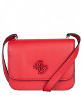 Guess Noelle Mini Crossbody Flap Red