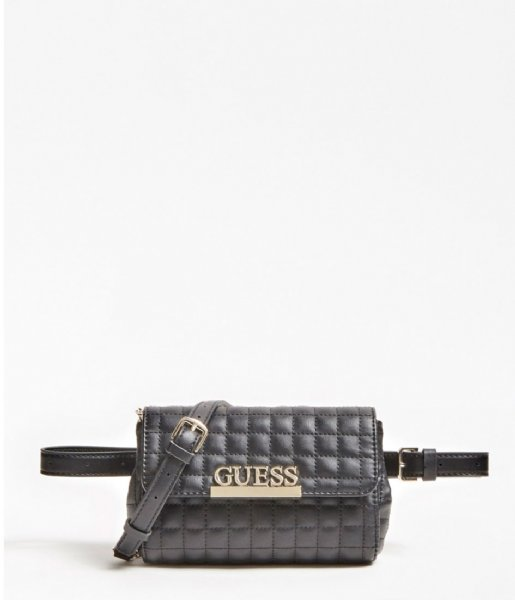 Guess Hipsack Matrix Cnvrtble Xbody Belt Bag black
