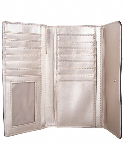 Guess  Cathleen Slg Pocket Trifold brown