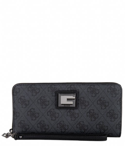Guess  Valy Slg Large Zip Around Coal