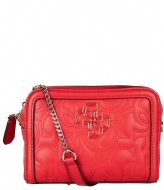 Guess New Wave Convertible Belt Bag red