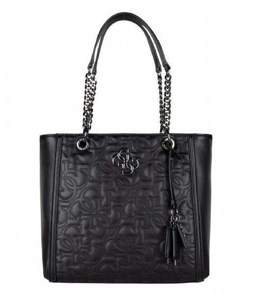 New Wave Tote black Guess   The Little Green Bag