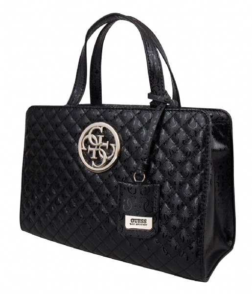 Gioia Small Girlfriend Satchel black Guess | The Little