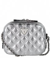 Logo Luxe Small Society Satchel coal Guess | The Little