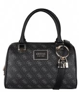 Guess Tyren Box Satchel Coal