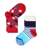 Kids Socks Dot Stripe