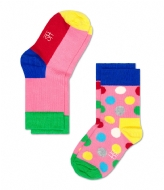 Happy Socks Kids Socks 2-Pack multi (034)