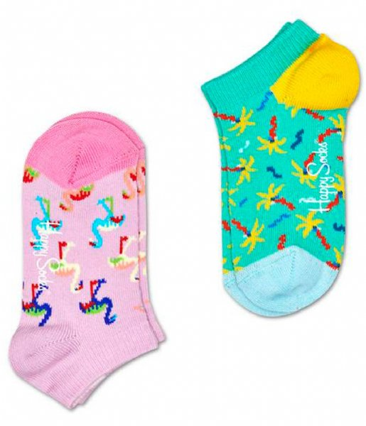 Happy Socks  2-Pack Confetti Palm Low Socks confetti palm (7000)