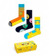 Happy Socks Sponge Bob 3-pack Gift Box sponge bob (0100)