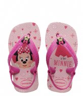 Havaianas Flipflops Baby Disney Classics crystal rose (1141)