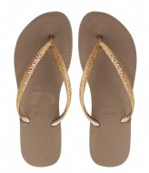 Havaianas Flipflops Kids Slim Shiny rose gold (3581)