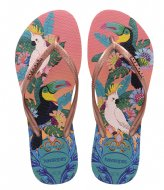 Havaianas Flipflops Slim Tropical silk rose (0082)