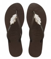 Havaianas Flipflops You Premium dark brown (0727)