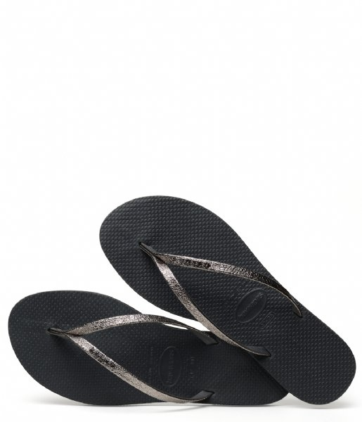 Havaianas  Flipflops You Shine new graphite (0074)