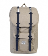 Herschel Supply Co. Little America light khaki crosshatch (01571)