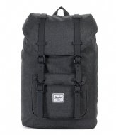 Herschel Supply Co. Little America Mid Volume 13 Inch black/crosshatch black (02093)