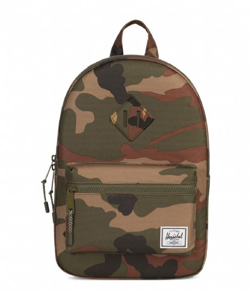 Herschel Supply Co.  Heritage Kids woodland camo (02232)