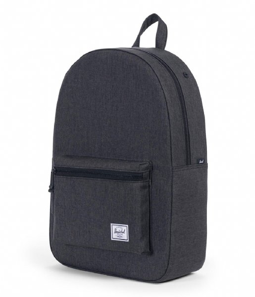Herschel Supply Co.  Settlement 15 Inch black crosshatch (02093)