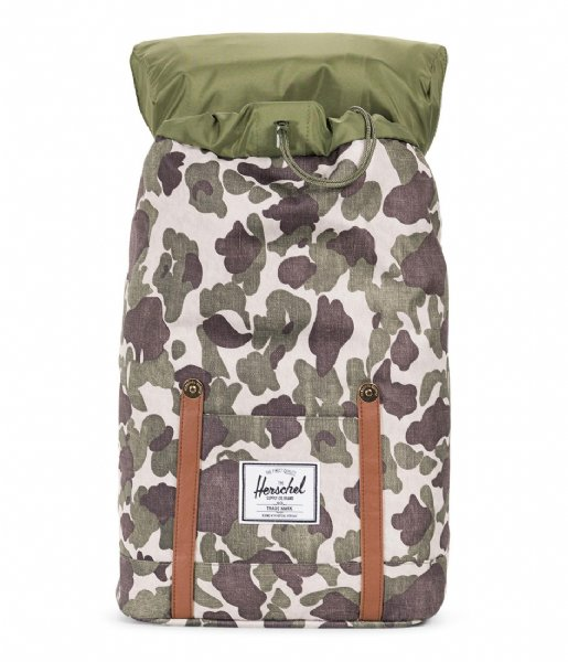 Herschel Supply Co.  Retreat 15 Inch frog camo tan (01858)