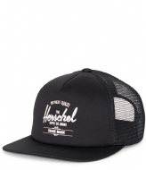 Herschel Supply Co. Whaler Headwear mesh black (0001)
