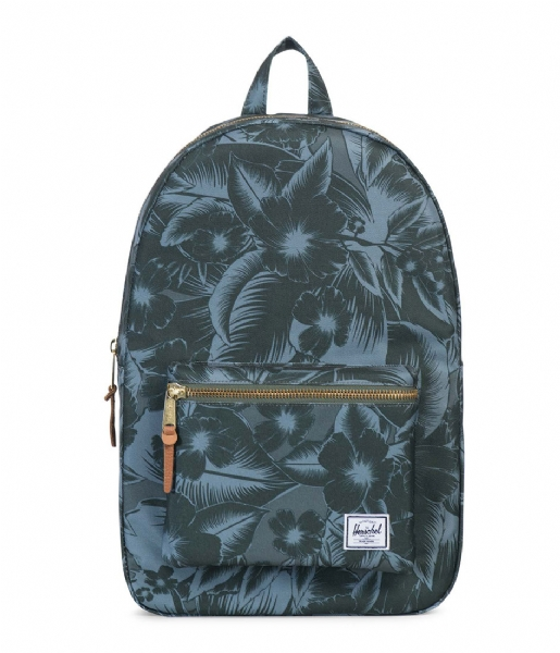 fc08109393a8 Settlement jungle floral green (01055) Herschel Supply Co.