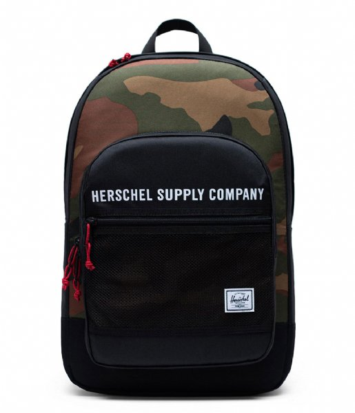 Herschel Supply Co.   Athletics Kaine 15 Inch black woodland camo (03181)