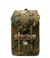 Herschel Supply Co. Little America 15 Inch woodland camo (02232)