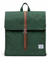 Herschel Supply Co. City Mid Volume Greener Pastures Crosshatch (03882)