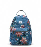 Herschel Supply Co. Nova Small Summer Floral Heaven Blue (03894)