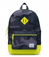 Herschel Supply Co. Heritage Youth Night Camo Lime Punch (04087)
