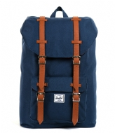 Herschel Supply Co. Little America Mid Volume navy & tan PU