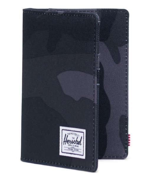 Herschel Supply Co.  Raynor Passport Holder RFID night camo (02992)