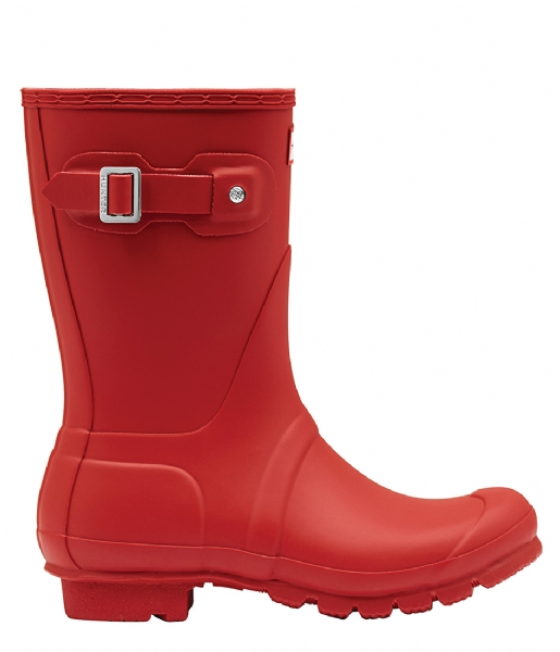Hunter  Boots Original Short military red