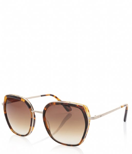IKKI  Sunglasses Donna grey tortoise gradient light brown (73-4)