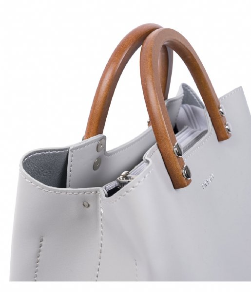 INYATI Handbag Inita Top Handle Bag linnen grey (4052)