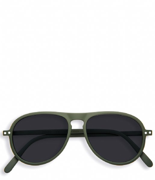 Izipizi  #I Sunglasses kaki green