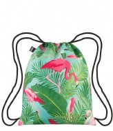 LOQI Backpack Wild flamingos