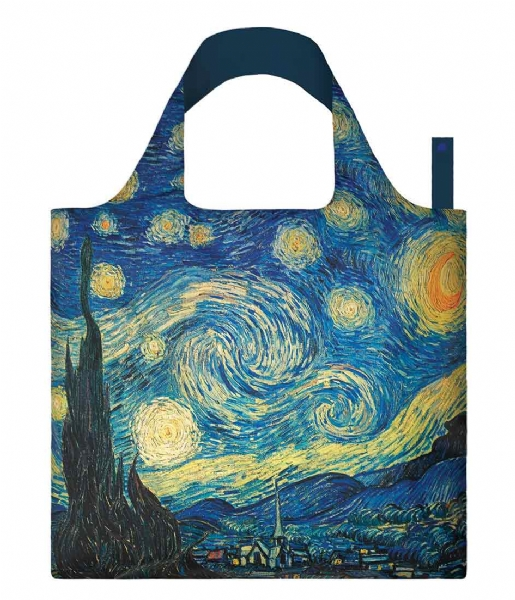 LOQI  Foldable Bag Museum Collection the starry night
