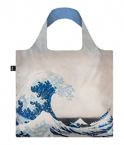 LOQI  Foldable Bag Museum Collection the great wave