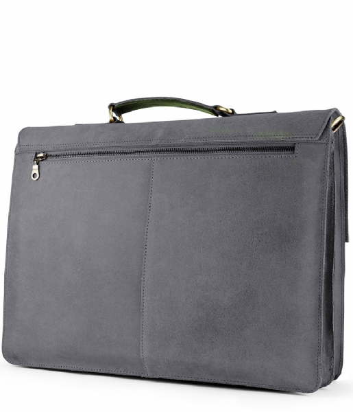 Laauw  Bag Cuzco 15 Inch off black