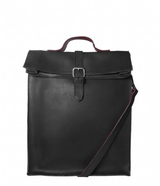 Laauw  Nine Streets Laptop Bag 15 Inch black