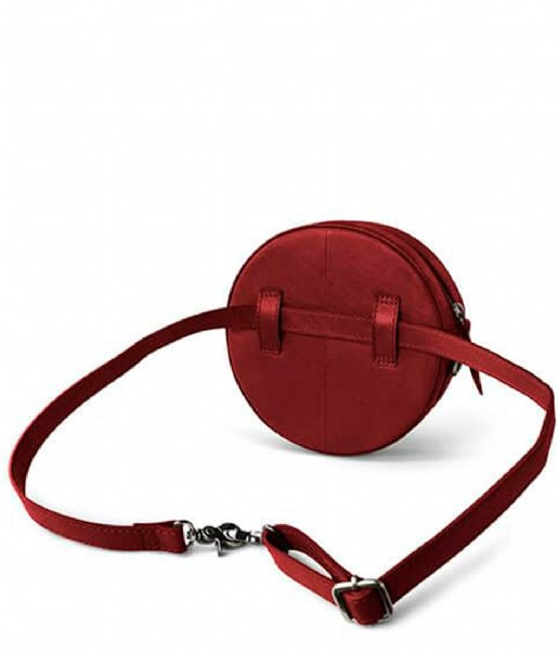 Laauw Hipsack Luna Mini Round Shoulderbag bordeaux