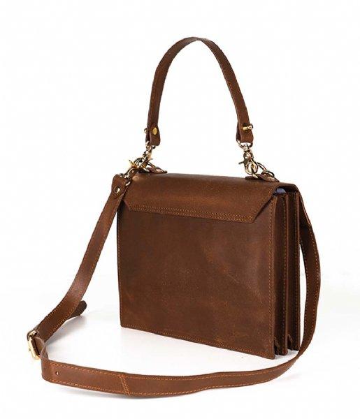 Laauw Handbag Kyoto Bag tan